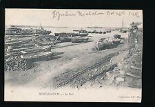 North Frica ALGERIA Mostaganem port scene c1910/20s? PPC fault
