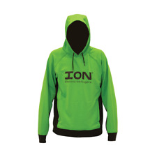 ION Ice Augers Hoodie Ice Fishing Adult Unisex Small Lined Hood Green/Black NEW!