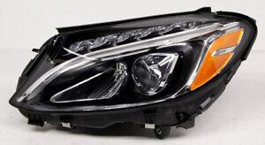 OEM Mercedes-Benz C-Class Left Driver Side LED Headlamp Adjuster Chipped