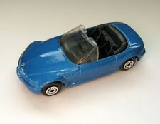 Maisto BMW Z3 Blue Die Cast Car 1:64 Scale, Just Out of Package Condition