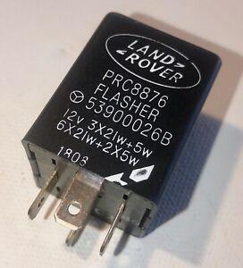 Landrover Isuzu Perentie Defender 4 Pin Flasher Unit (Brand New)