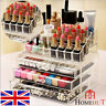 COSMETIC ORGANISER MAKEUP DRAWER HOLDER JEWELLERY CASE BOX STORAGE CLEAR ACRYLIC