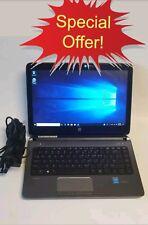 HP ProBook 430 G2 Intel Core i3-4005U 1.7GHz *4GB RAM-128GB SSD Touch screen