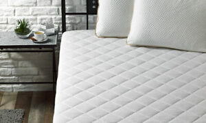 WATERPROOF COTTON RICH MATTRESS PROTECTOR Soft Quilted Terry Towelling Top