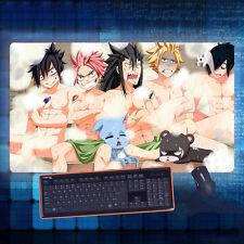 Fairy Tail Natsu/Gajeel/Gray Mouse Pad Play mat GAME mat Mousepad 40*70cm#84C961