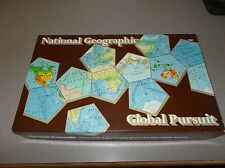 Vintage National Geographic Global Pursuit Family Geography game set used nice