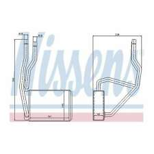 Fits Ford Fiesta MK6 1.6 TDCi Nissens Heat Exchanger Interior Heater Matrix