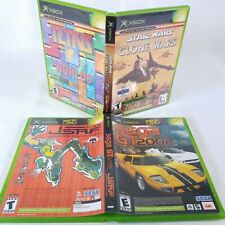 Tetris star wars Sega GT 2002 Jetset Radio 2 dual game lot Original Xbox t2
