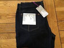 Ladies BNWT Gloria Vanderbilt dark wash stretch boot cut jean, UK size 18