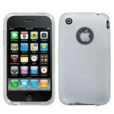 White ST Candy Skin Case for Apple iPhone 3G 3GS