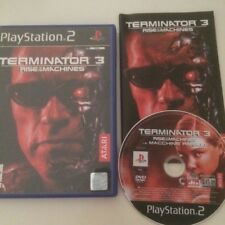 PS2 TERMINATOR  3 THE RISE OF THE MACHINES SONY PLAYSTATION 2 COMPLETO