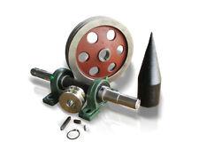 Construir una astilladora con accionamiento eléctrico Tronco Madera Conos 80 mm