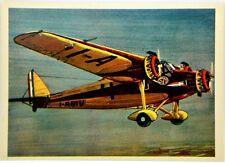 Cartolina Aviazione - Aereo S.I.A.I. S-71 - Non Viaggiata