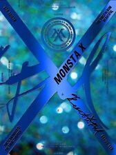 MONSTA X 1st Album [BEAUTIFUL] Beside Ver CD+30p Post+Booklet+Photocard+Sticker