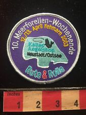 Germany Patch Rute & Rolle (? Rod & Reel ?) Meerforelle (? Fish Fishing ?) 60ZZ