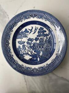 Blue Willow Churchill Porcelain Dinner Plate 24cm