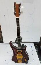 Lemmy Minature Guitar New Vintage Motorhead Free Stand
