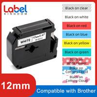 M-K231 MK221 Compatible Brother PT-80 PT-85 PT-65 P-Touch Label Tape 9mm 12mm