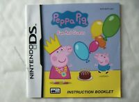 54978 Instruction Booklet - Peppa Pig Fun And Games - Nintendo DS (2010) NTR-BPI
