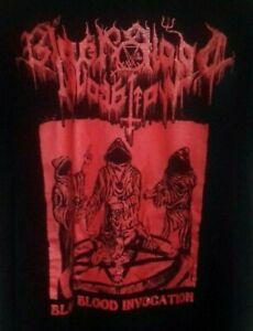 Black Blood Invocation SHIRT Blasphemy Necromantia Beherit Archgoat Mystifier