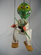 VTG TMNT MADE IN MEXICO SOUVENIR MARIONETTE PUPPET FIGURE ONE OF A KIND CLEAN!