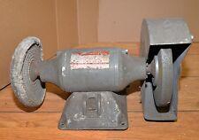 "Dayton 6"" bench grinder buffer blacksmith knife makers polishing finishing tool"
