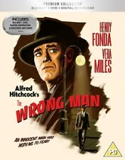 BLU-RAY THE WRONG MAN  HITCHCOCK  PREMIUM EXCLUSIVE EDITION NEW SEALED UK STOCK
