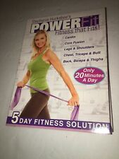 Stephanie Huckabee's Power Fit - 5 Dvds - Fitness That Fits - Only 20 min a Day