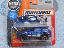 MATCHBOX 2016 #080/125 FORD EXPLORER Dark Blue MBX ed Eroico salvataggio caso G
