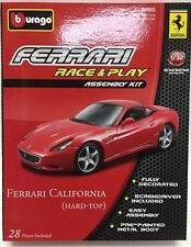 Bburago - 18-45200 - Asembly Kit Ferrari California (Hard Top) Scale 1:32 - Blue