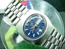 """Mens 36mm FELCA ROTOMATIC  Hi-beat  25j eta 2790-1 1976 Vint  SS 8""""  Watch"""