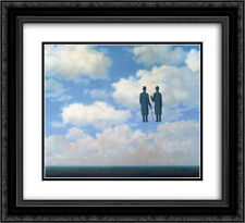 Rene Magritte 2x Matted 24x20 Framed Art Print 'The infinite recognition '