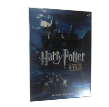 Harry Potter Complete 8-Film Collection ( Dvd 8 Disc)Free Shipping!