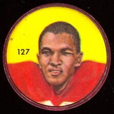 1963 CFL NALLEY'S POTATO FOOTBALL COIN #127 Ed Buchanan EX-NM Calgary Stampeders