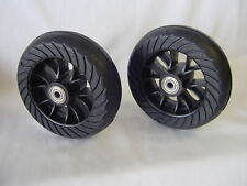 "Two Genuine Go-Ped Tire/Wheel/Bearing Assemblies PN:1158C 3/8"" Bearings, Mach 12"