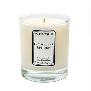 English Pear & Freesia - Personalised Soy Wax Candle - 20cl