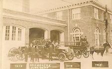 Dormont Fire Department 1918 Dormont PA RP Postcard