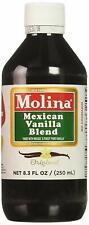Mexican Vanilla Blend By Molina Vainilla, 8.3/ 250 Ml (Vanillin Extract)