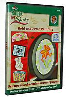 Folkart One Stroke Bold & Fresh Painting (2005, DVD) Plaid One Hour Instruction