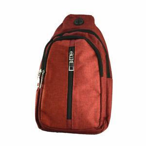 For Unisex Fanny Pack Belt Waist Cross Shoulder Camping Backpack Bag Pouch LOT