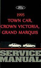 OEM Repair Maintenance Shop Manual Ford Crown Vic/Town Car/Grand Marquis 1995