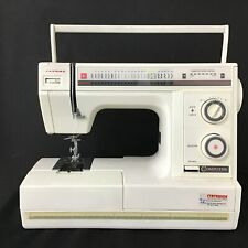 Janome Computer Equipped Electrical White Sewing Machine with Case #209