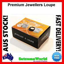 Premium Jewellers Eye Loupe Magnifier Magnifying Glass 30x21mm diamond jewelery