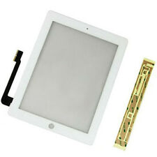Compatible Front Panel Touch Screen Glass Digitizer + Adhesive for iPad 3 White