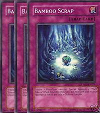 CSOC EN075 3X UNL ED BAMBOO SCRAP COMMON CARDS