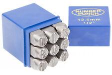 Schlagstempel Schlagzahlen 12 mm DIN 1451 Einschlagzahlen Punze Punziereisen BGS