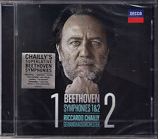 Riccardo Chailly: Beethoven Symphony No. 1 & 2 Creatures of Prometeo Leonore CD