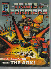 TRANSFORMES THE COMIC SERIES ISSUE NUMBER 110 FN/VFN