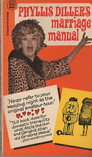 Phyllis Diller's Marriage Manual, Drawings by Susan Perl, 1967 vintage humor
