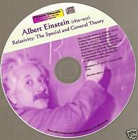 Relativity Theory, space gravity EINSTEIN MP3 CD 3hrs +
